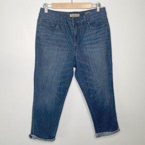 Nine West Vintage America Boho Blue Denim Jeans 10